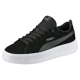 Puma Smash Platform SD, Puma Black-Puma Black, small