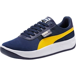 California Casual Sneakers, Peacoat-SpectraYellw-P Wht, small