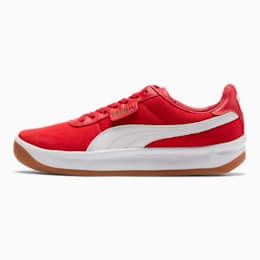 California Casual Sneakers, Ribbon Red-Puma White, small