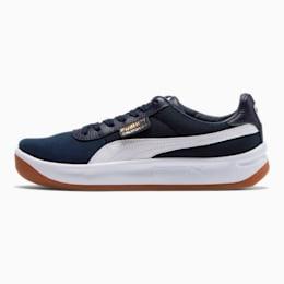 California Casual Sneakers, Peacoat-Puma White, small