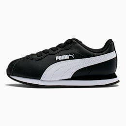 Turin II AC Little Kids' Shoes, Puma Black-Puma White, small