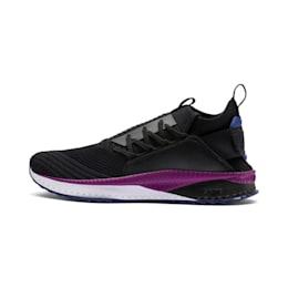 TSUGI Jun CLRSHFT Shoes, PBlack-SBlue-Phlox, small-IND