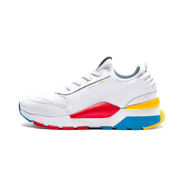 RS-0 Play Sneakers JR, White-Puma White-White, small