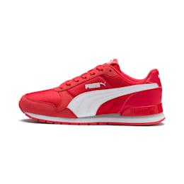 ST Runner v2 Mesh V Kids' Shoes, Hibiscus -Puma White, small-IND