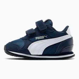 ST Runner v2 Mesh AC Toddler Shoes, Peacoat-Puma White, small