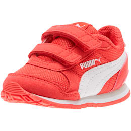 ST Runner v2 Mesh AC Toddler Shoes, Hibiscus -Puma White, small