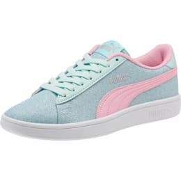 Smash v2 Glitz Glam Sneakers JR, F Aqua-P Pink-Silver-White, small