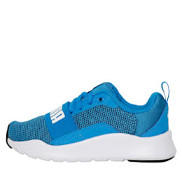 Wired Knit Kids' Shoes, Indigo Bunting-Puma White, small-IND