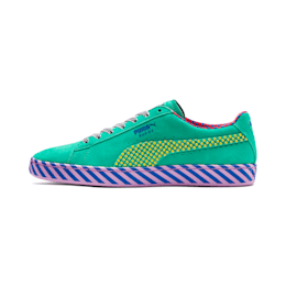 SUEDE CLASSIC Pop Culture, Biscay Green-Vibrant Yellow, small-JPN