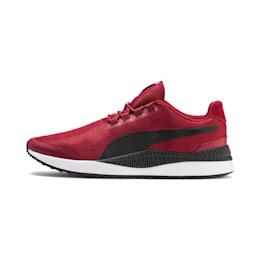 Zapatos deportivos Pacer Next FS para hombre, Rhubarb-Puma Black, pequeño