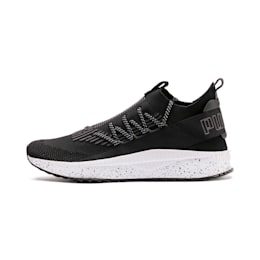 TSUGI Kai Jun Speckle evoKNIT Sneaker, Puma Black-Asphalt, small