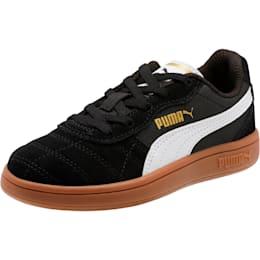 Astro Kick AC Little Kids' Shoes, Puma Black-Puma White-Gold, small