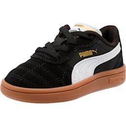 Astro Kick AC Toddler Shoes, Puma Black-Puma White-Gold, small