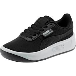 California Little Kids' Shoes, P Black-P White-Puma Black, small