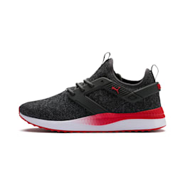 Pacer Next Excel VariKnit Men's Sneakers, Dark Shadow-High Risk Red, small