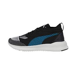 AVID NU Knit Sneakers, Puma Black-Indigo Bunting, small-IND
