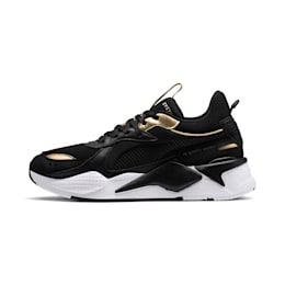 RS-X TROPHY Shoes, Puma Black-Puma Team Gold, small-IND
