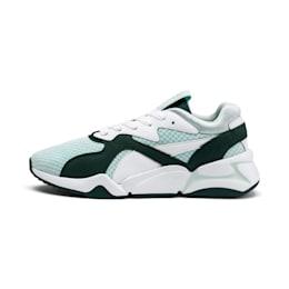 Nova '90s Bloc Women's Sneakers, Fair Aqua-Ponderosa Pine, small
