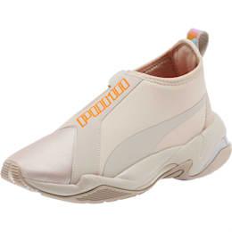 Thunder Trailblazer Tonal Metallic Women's Sneakers, Silver Gray-Nasturtium, small
