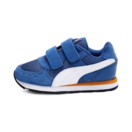 Vista V Kids' Shoes, Galaxy Blue-Puma White, small-IND