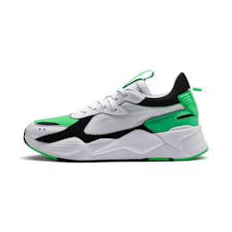 RS-X Reinvention Trainers, Puma White-Irish Green, small