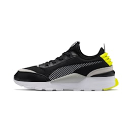 RS-0 Core Trainers, Puma Black-G Violet-Y Alert, small