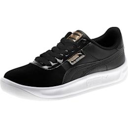 California Monochrome Women's Sneakers, Puma Black-Puma Team Gold, small
