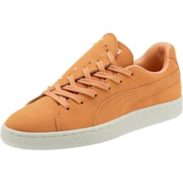 Suede Crush Studs Women's Sneakers, Toast-Toast, small