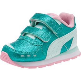 Vista Glitz Toddler Shoes, Fair Aqua-Pale Pink, small