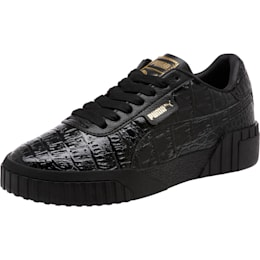 Cali Croc Women's Sneakers, Puma Black-Puma Black, small