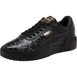 Cali Croc Women's Sneakers, Puma Black-Puma Black, small