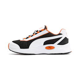 Nucleus Training Shoes, Puma Black-Jaffa Orange, small