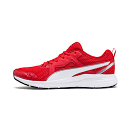 Pure Jogger Running Shoes, Red-White-Silver-Blck-Yellow, small-IND