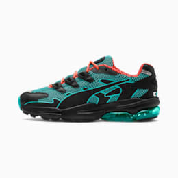 CELL Alien Kotto Trainers, Puma Black-Blue Turquoise, small
