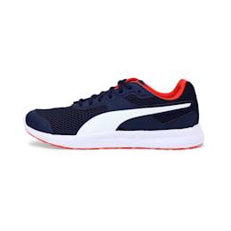 Escaper Training Shoes, Peacoat-White-Cherry Tomato, small-IND