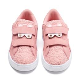 Zapatos Suede Winter Monster para niña pequeña