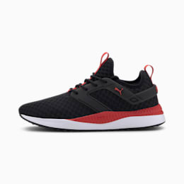 Pacer Next Excel Core Men's Sneakers, Puma Black-High Risk Red-PW, small