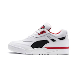 Palace Guard Men's Basketball Trainers, Puma White-Puma Black-red, small