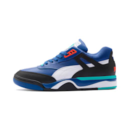 Palace Guard Men's Basketball Trainers, Puma Black-Puma White-Blue, small