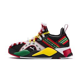 PUMA x JAHNKOY RS-X Knit Sneakers, Puma Black, small