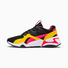 Nova Funky Sneakers JR, Puma Black-Sulphur, small
