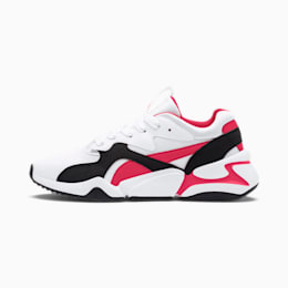 Nova Funky Youth Trainers, Puma White-Nrgy Rose, small