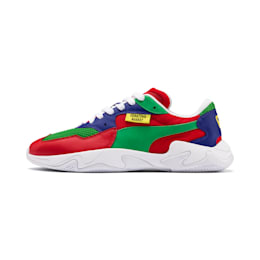 PUMA x CHINATOWN MARKET Storm Trainers, High Risk Red-Fern Green, small-SEA