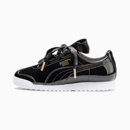 Roma Heart Patent Women's Sneakers