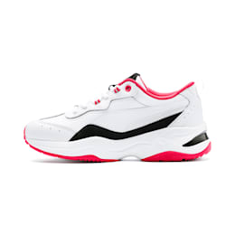 Cilia Lux Women's Training Shoes, White-Black-Nrgy Rose-Silver, small