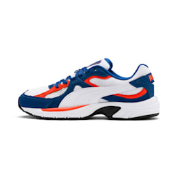 Axis Plus SD Trainers, White-G Blue-C Tomato-Black, small