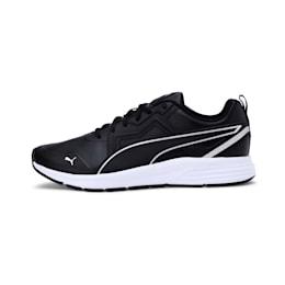 Pure Jogger SL Shoes, Puma Black-Silver-White, small-IND