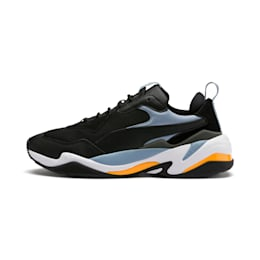 Thunder Fashion 2.0 Trainers, P Black-Faded Denim-P White, small