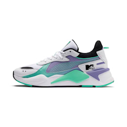 RS-X Tracks MTV Gradient Blaze Sneakers, Puma White-Sweet Lavender, small