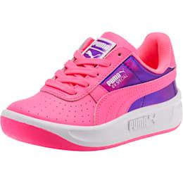 Zapatos GV Special Mirror Metal para niña pequeña, KNOCKOUT PINK-Puma White, pequeño
